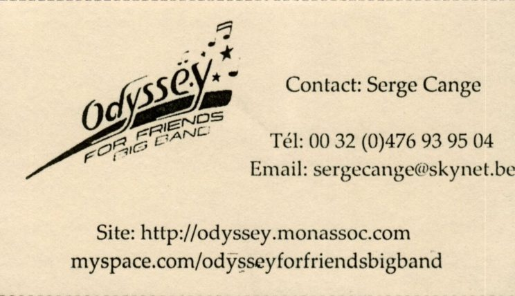 Odyssey For Fri_Serge_Cange_front
